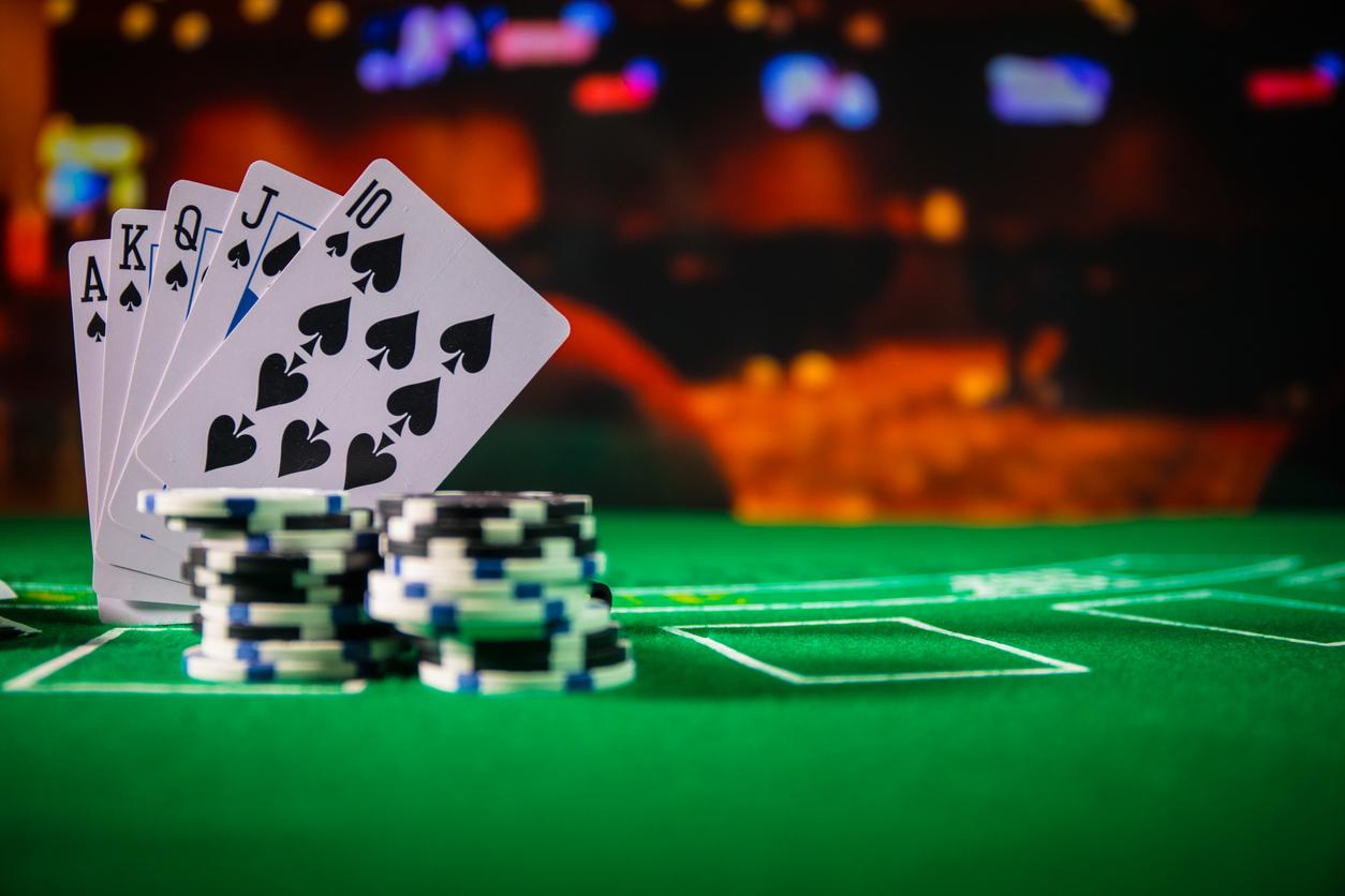 successful gambling in a casino